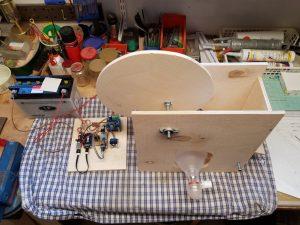DIY ventilator construction v2 wiper motor overview