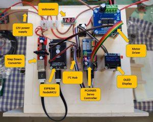 DIY ventilator construction wiper motor details