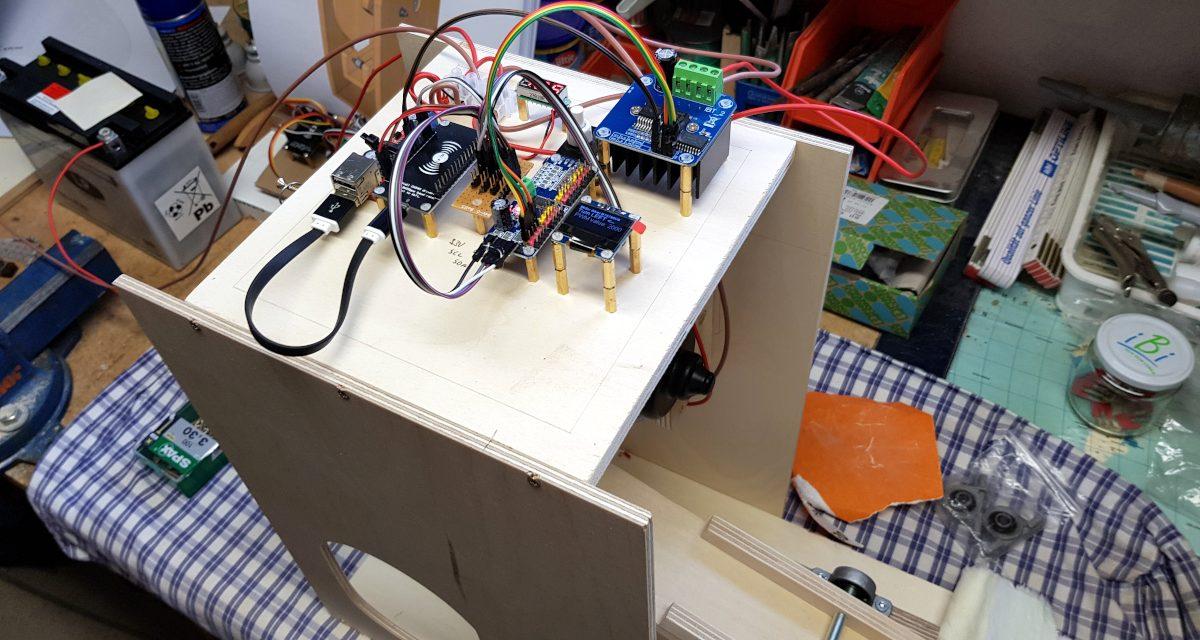 Behelfs-Beatmungsgerät für den Kampf gegen COVID19 – Testaufbau mit Elektronik
