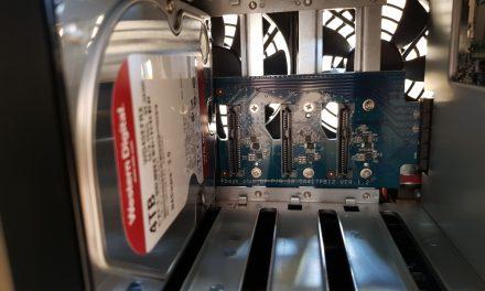 Synology Diskstation DS918+ NAS System 4 Bay Teil 2