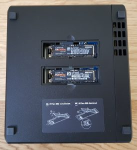 Synology Diskstation DS918 Samsung SSD Cache