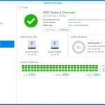 Synology Diskstation DS918+ NAS System 4 Bay - SSD Cache einrichten