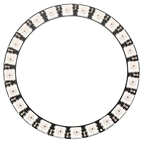 LED Ring Lampe 1pc 24-Bit WS2812 5050 RGB LED Ringleuchte mit integrierten Treibern