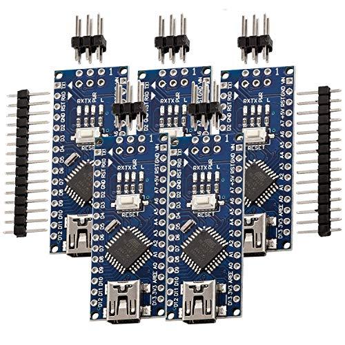 AZDelivery 3 x Nano V3.0 mit Atmega328 CH340 100% Arduino kompatibel mit Nano V3 inklusive E-Book!